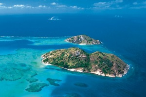 Captain James Cook and his crew dropped anchor off Lizard Island.