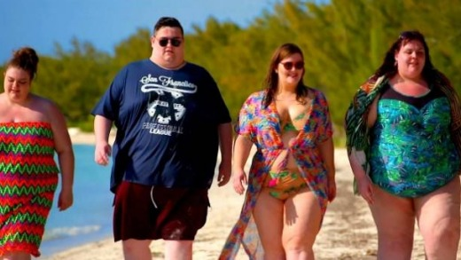 """A new British reality TV series, """"The 18-30 Stone Holiday"""", is set at The Resort."""