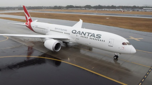 The Qantas Boeing 787-9 Dreamliner will be the first plane to fly between the US and Australia powered by biofuel.