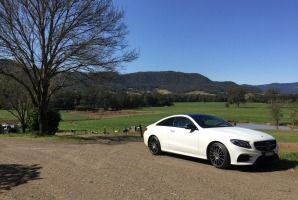 Getting away from it all in the Mercedes-Benz E-Class Coupé and Cabriolet in the Southern Highlands.