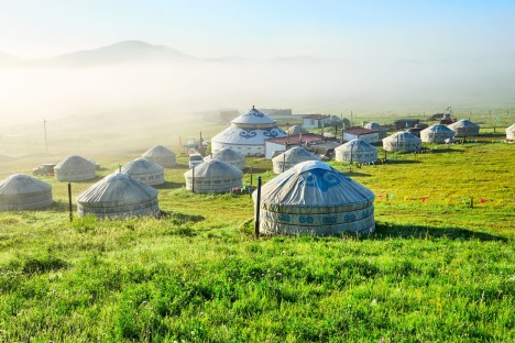 sunoct29coverasia Asia ; text by Ben Groundwater credit:?Shutterstock?** EDITORIAL USE ONLY ** Mongolia -?The landscape ...