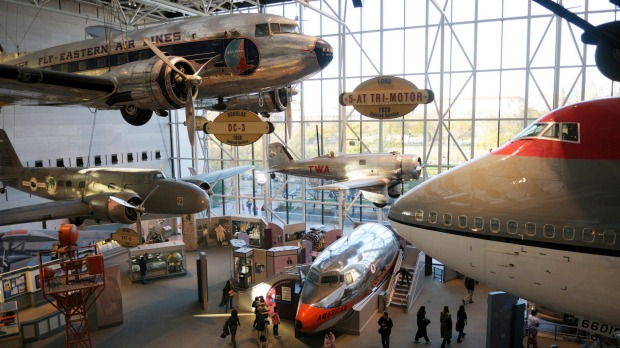 The National Air and Space Museum, Washington DC, holds the world's largest and finest collection of truly historic ...