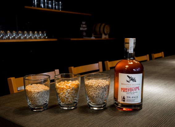 WHIPPER SNAPPER: Two Perth brothers-in-law were inspired by a World War II recipe to come up with a bourbon-style corn ...