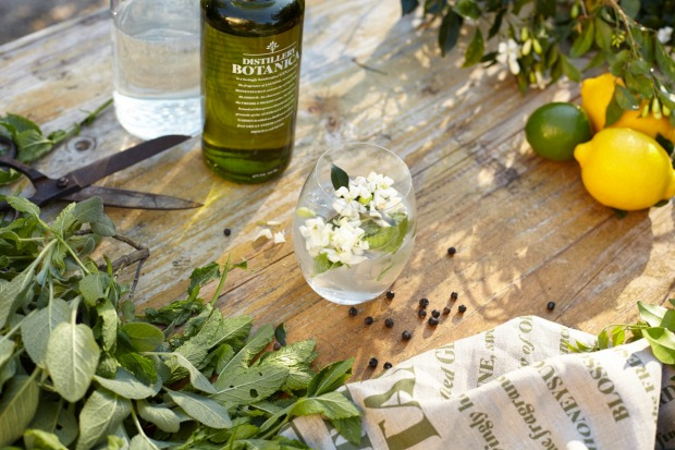 DISTILLERY BOTANICA: Philip Moore's award-winning vintage dry gin, made at a distillery at Erina on the Central Coast, ...