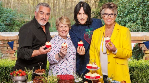 Not just about scones: The Great British Bake Off.