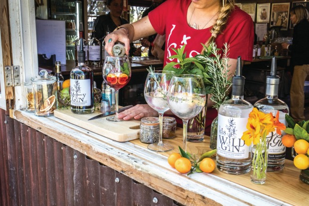 """KANGAROO ISLAND SPIRITS: """"I was going into fish farming, but my wife Sarah convinced me alcohol is more interesting,"""" ..."""