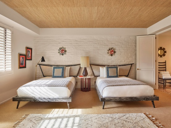 Deluxe Double Room, Parker Palm Springs