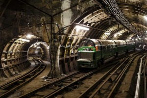 London's Mail Rail network.