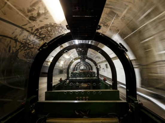 Visitors can ride a section of the Rail Mail route at London's Postal Museum.
