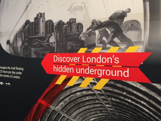 An exhibition at London's Postal Museum.