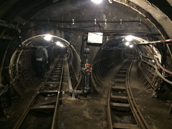 The Rail Mail network sits 21 metres below the streets of London stretching over 10 kilometres.