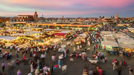 Marrakesh, Morocco. Despite the country's popularity as a tourist destination, it has one of the worst reputations in ...