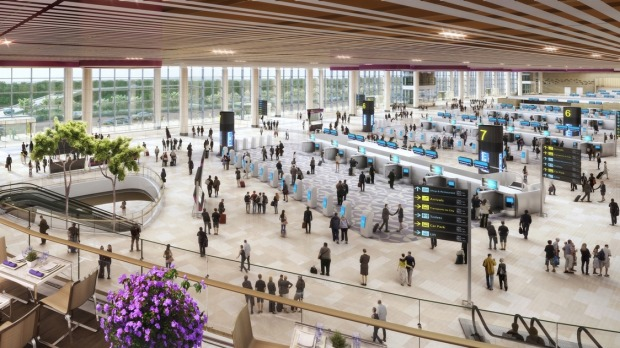 The new terminal has a capacity to serve 16 million passengers a year, taking Changi's overall capacity to 82 million ...