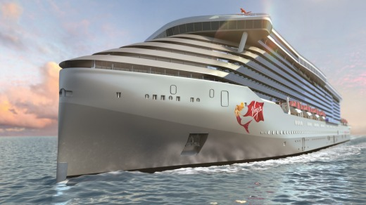 Virgin Voyages first cruise ship will set sail in 2020.