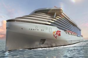 Virgin Voyages' first cruise ship.