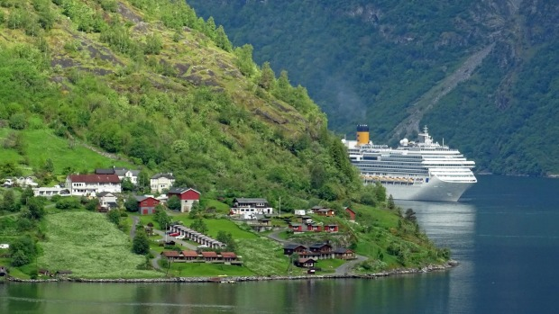 Remote access: Cruising in Norway.