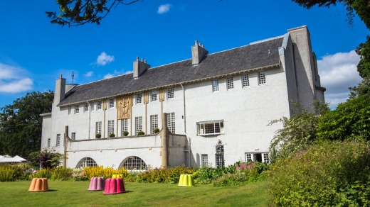 Scotland House for an Art Lover in Bellahouston Park.