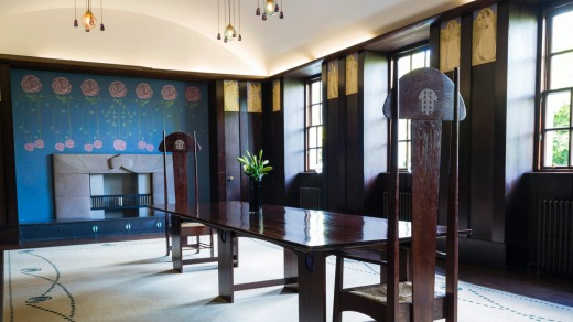 The Dining Room, House for an Art Lover in Bellahouston Park.
