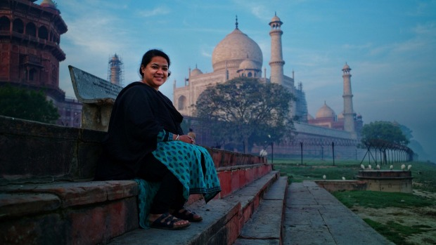 Sana Jinah guides her groups all over India.
