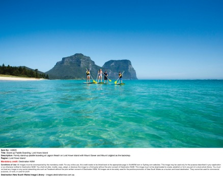 Lord Howe is bathed by warm ocean currents and its summertime sea temperatures, combined with a bevy of pristine beaches ...