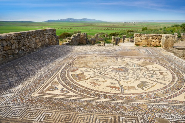 An Ancient Seaside Capital in Morocco. Volubilis, the capital of the Mauritanian empire, couldn't have been built in a ...