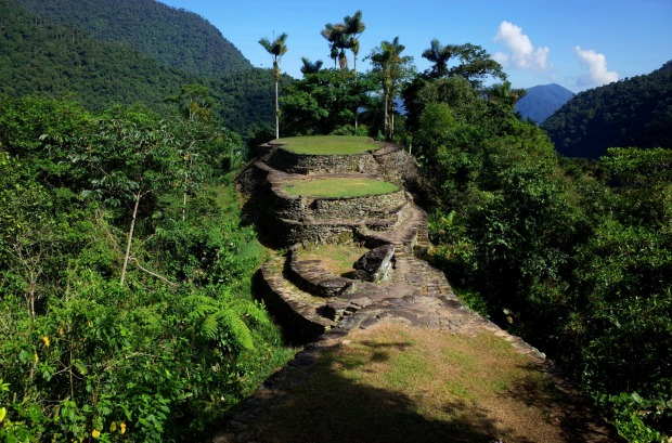 The Lost City of Colombia. This 1000-year-old ruin in the Colombian Sierra Nevada is 650 years older than Machu Picchu ...