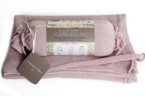 Annabel James shawl comes in several muted colours.