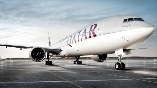 Qatar Airways Boeing 777-300ER - a pilot favourite.