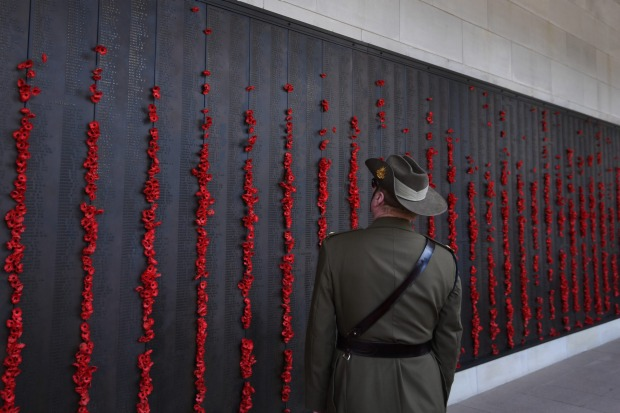 ROLL OF HONOUR Step through the entrance of the Australian War Memorial in Canberra and into the Commemorative Courtyard ...