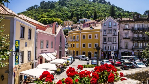 """Sintra: Described as a """"glorious Eden"""" by Lord Byron in 1809."""