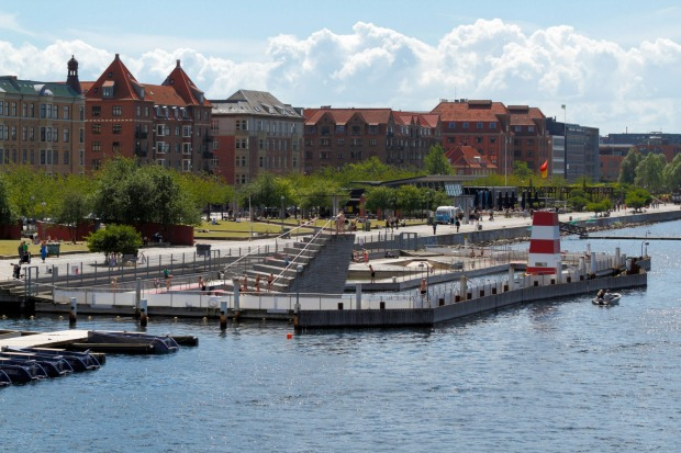 ISLANDS BRYGGE HARBOUR BATH, COPENHAGEN. At the heart of the city, the Harbour Bath evokes the chic minimalism of an ...