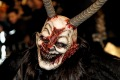 Krampuslauf is a traditional parade with pre-Christian roots.