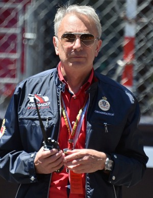 The race director of the Monaco Formula One Grand Prix, Michel Ferry.