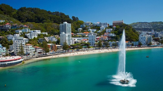 Wellington's most expensive post code - Oriental Bay.