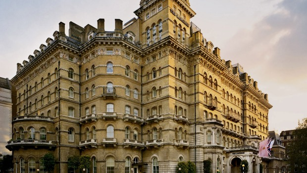Langham Hotel London. Two literary guests  were hosted over dinner here by an American editor in 1889: Oscar Wilde and ...