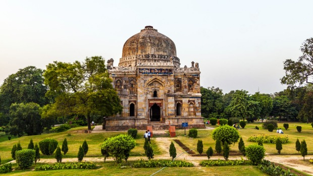 Lodi Gardens in New Delhi, India.