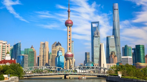 Shanghai's Pudong district. The influx of Chinese airlines to Australia has seen an corresponding increase in the number ...