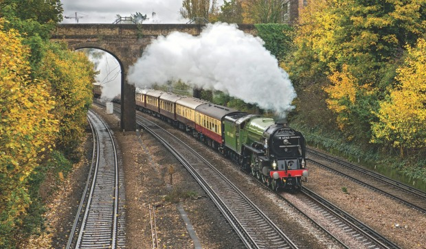 The Belmond British Pullman is an 11-car art deco steam train with elegant interiors that would have been the benchmark ...