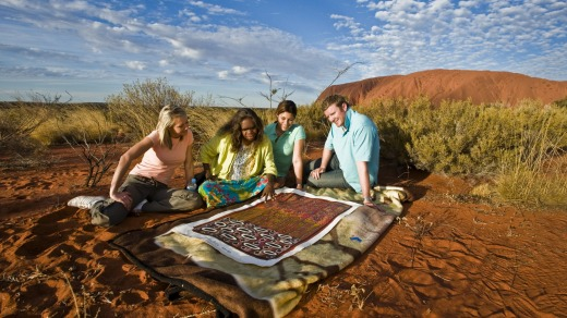 The Cultural Centre within Uluru-Kata Tjuta National Park shines a light on Indigenous culture.