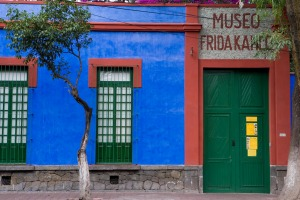 Museo Frida Kahlo, Mexico City.