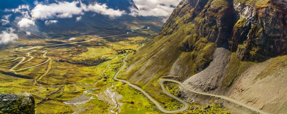 Death Road in Bolivia. The name says it all.