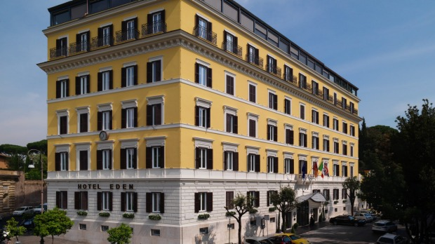 Hotel Eden, Rome review: Century-old hotel more dazzling