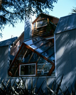 FRANK GEHRY RESIDENCE: Take a 1920s suburban bungalow on a quiet street, wrap it in corrugated steel, tack on some ...