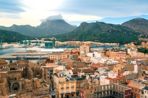 Cartagena in Spain is an increasingly popular port of call for Mediterranean cruise liners.
