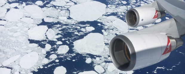 At present, the only commercial flights to go to Antarctica are sightseeing trips, but that may soon change.