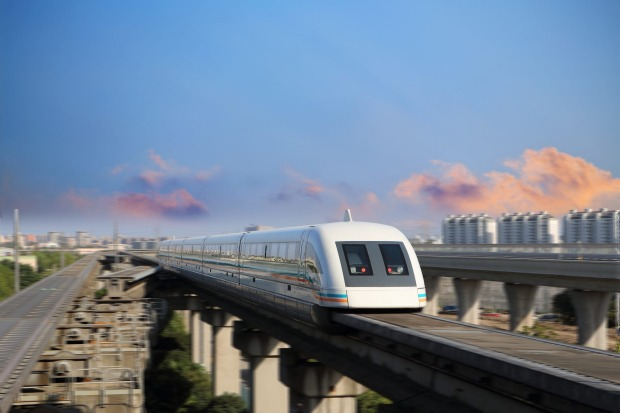 Unsurprisingly, the future of train technology resides in China. The first magnetic-levitation, or maglev train, which ...
