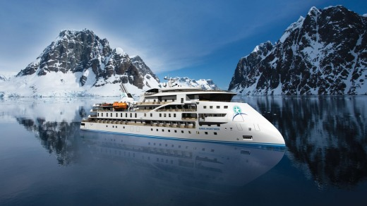 Aurora Expeditions' new ship 'Greg Mortimer'.