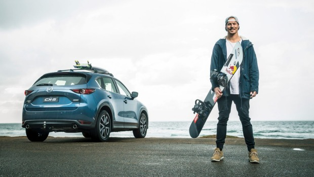 Snowboarder Chumpy Pullin is has lucrative sponsorship deals with Mazda and Red Bull.