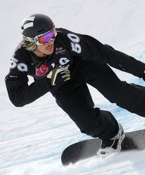 Pullin in action ahead of the 2018 Winter Olympics.