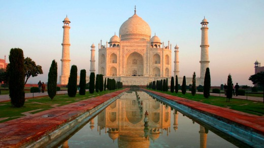 Visit the Taj Mahal on the Golden Triangle Adventure World India itinerary.